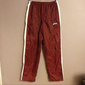 Men's ASICS Mesh Lined Drawstring Athletic Pants M